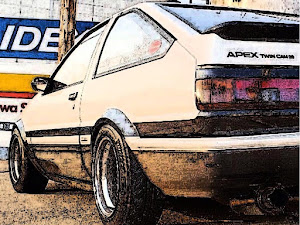 スプリンタートレノ AE86 昭和60年式GTアペックスのカスタム事例画像 みほまるさんの2019年07月08日19:52の投稿