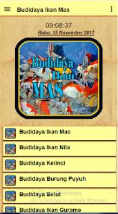 Budidaya Ikan Mas - náhled