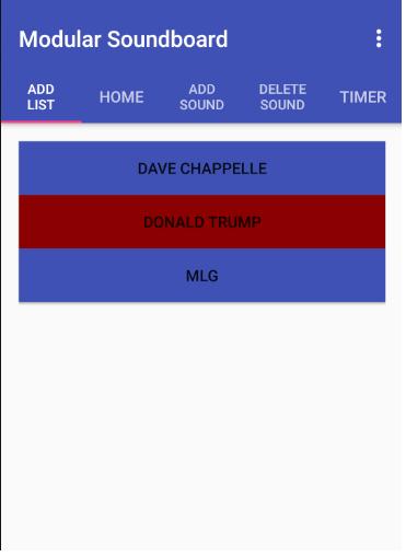 Modular Soundboard screenshot 1