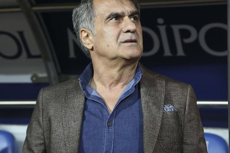 Le sélectionneur de la Turquie s'est adressé aux fans avant le match contre la France