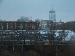 Photo: city skyline from window.