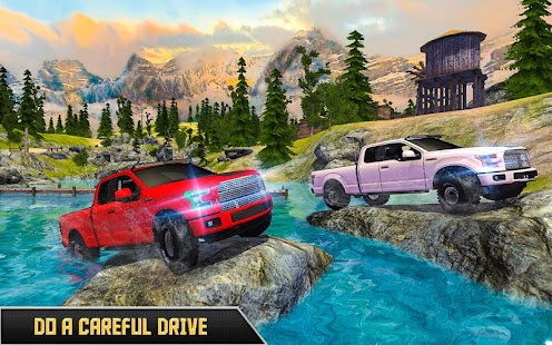 Offroad Pickup Truck Drive – 4x4 Car Simulator - náhled