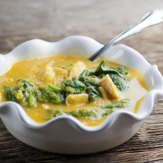 Chicken Butternut Soup.