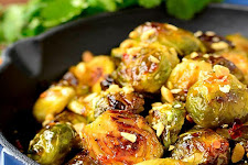 Cabbage And Brussels Sprouts In Spicy Sauce