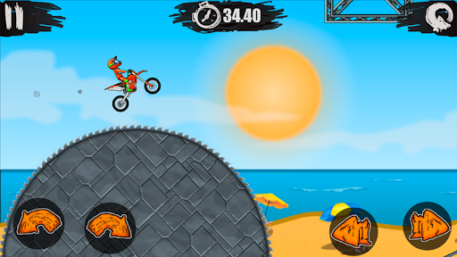 Moto X3M Bike Race Game - screenshot