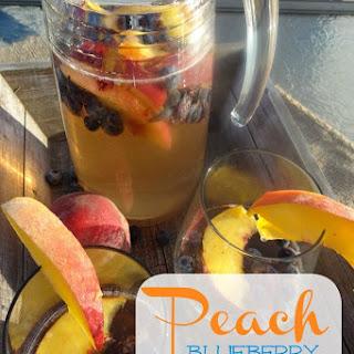 Peach Blueberry Sangria
