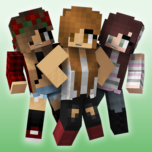 Cute Girl Skins for Minecraft
