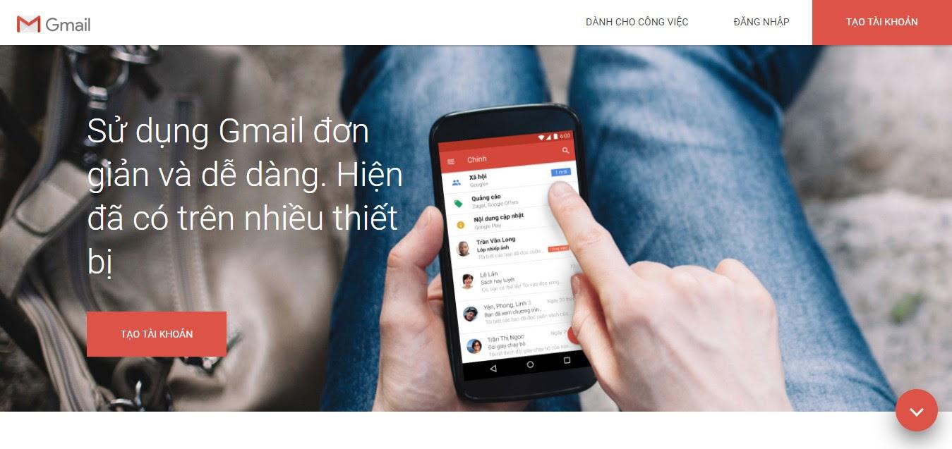 Trang chủ Gmail