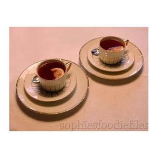 Sophie's Cranberry & Ginger Tea.