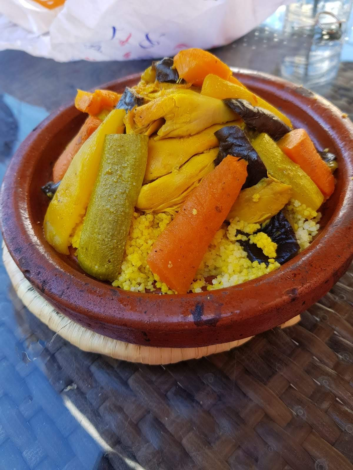 Chicken couscous marrakech