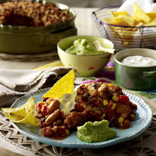 Spicy Baked Chicken with Guacamole