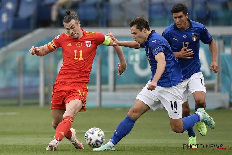 Wales-Italie Bale Gareth