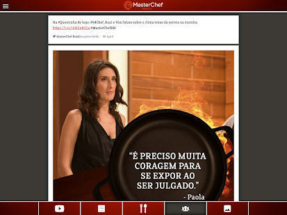 Masterchef BR- screenshot thumbnail