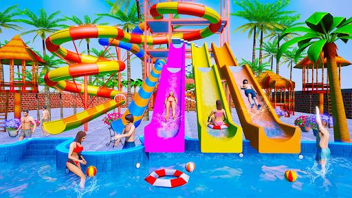 Water Sliding Adventure Park - Water Slide Games android2mod screenshots 5