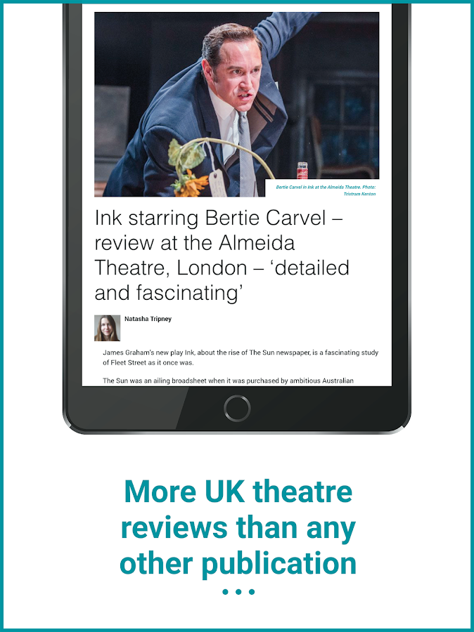 The Stage: Theatre News, Reviews and Jobs- screenshot