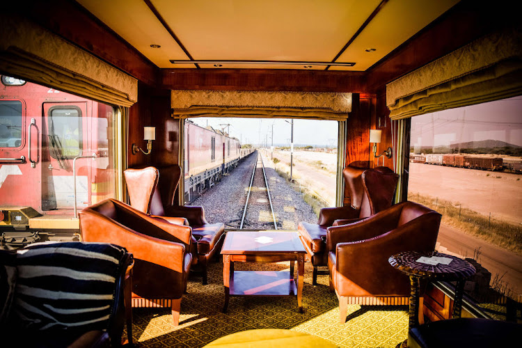 Inside the Blue Train: The timeless appeal of train travel.