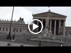 Video: austria, travel, parliament, vienna, wien