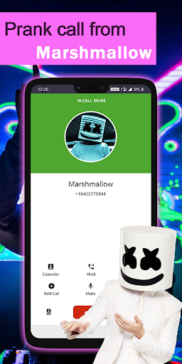 Prank call Marshmallow screenshot 2