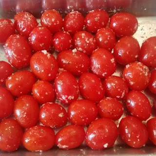 Parmesan and Herb Roasted Grape Tomatoes