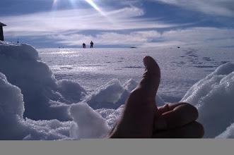 Photo: Primera corrida sobre nieve de la temporada (2011-12) - Navacerrada