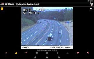 Screenshot of Cameras Seattle & Washington