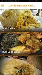 caribbean spice roti shop - náhled