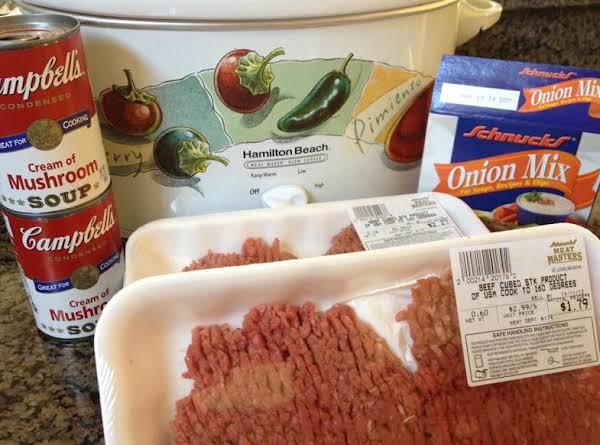 Crock Pot Cube Steak & Gravy image