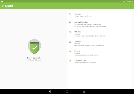 Dr.Web Security Space Life for PC-Windows 7,8,10 and Mac apk screenshot 9