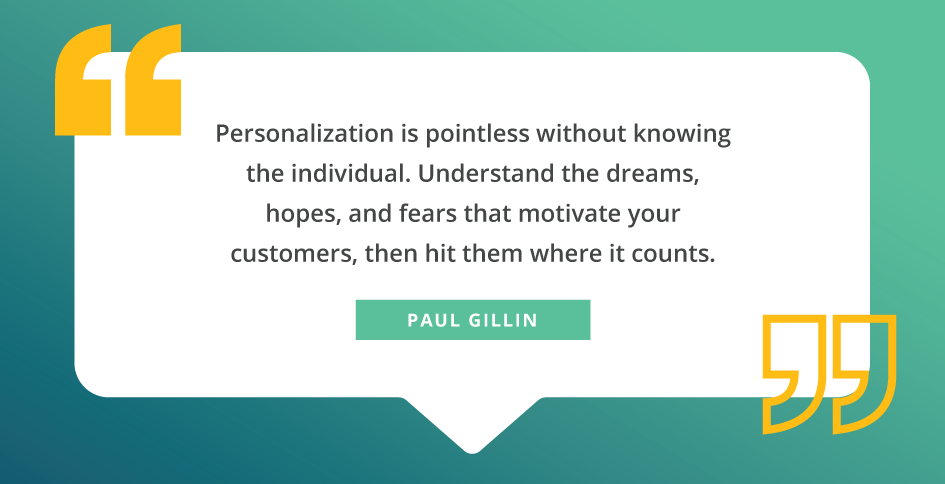 quote about personalization