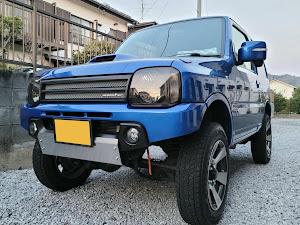 ジムニー JB23W X-Adventure XC(クロスアドベンチャーXC JB23-8型)パールメタリックカシミールブルー初年度登録 2012年(平成24年)4月のカスタム事例画像 Compact Blue さんの2021年02月21日00:44の投稿