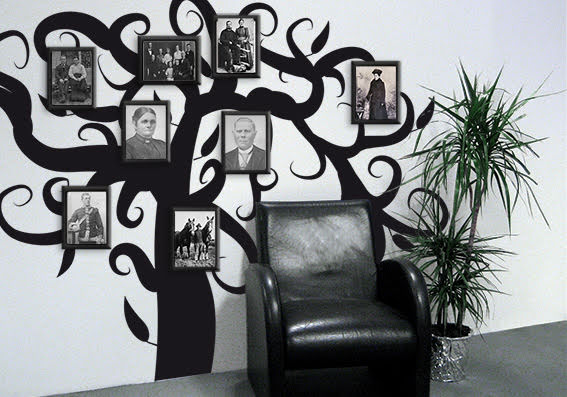 Specialgjorda släktträd