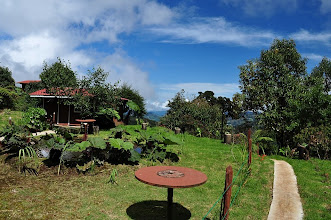 Photo: Lovely grounds of Paraiso del Quetzal at 2360 m asl