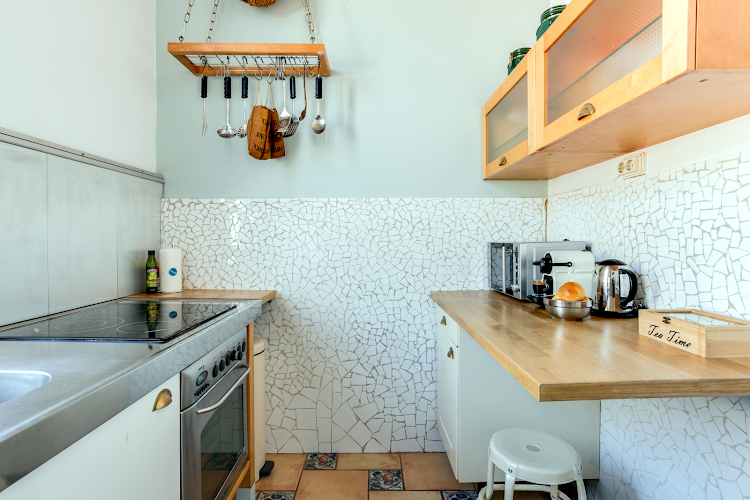 Fully equipped kitchen at Ethnic Eixample