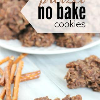 Pretzel No Bake Cookie