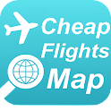 Cheap Flights Map icon