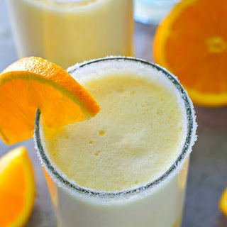 Orange Creamsicle Cocktail Slushies