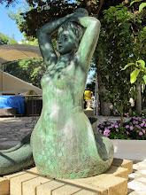 Photo: It.s5ITL129-141008Anacapri, sculpture, sirène  IMG_5679