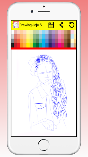 Draw and Coloring Jojo Siwa for PC