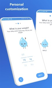 Drink Water Reminder & Hydration Tracker Pro (MOD, Paid) v2.00 3