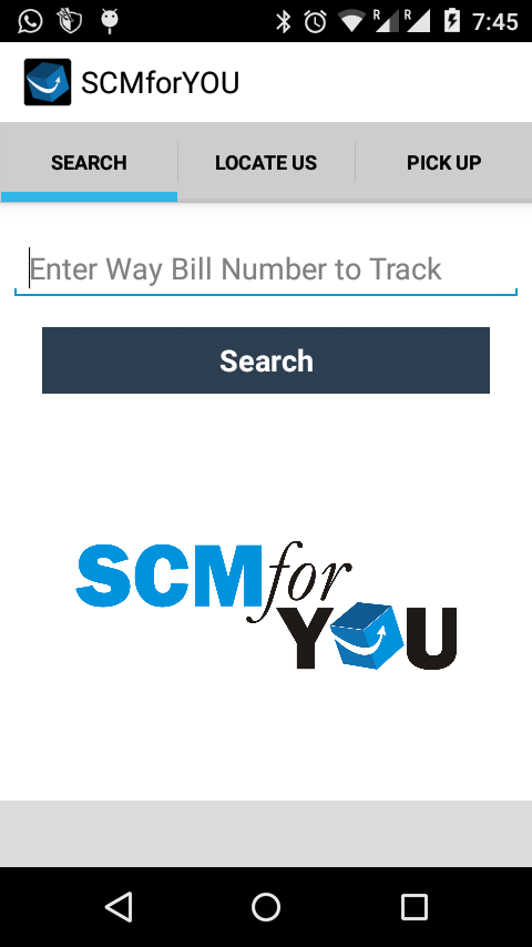 SCMforYOU- screenshot