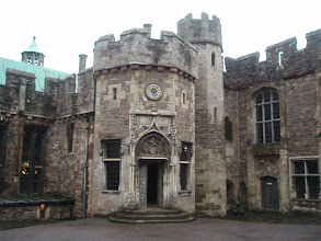 Photo: Main entrance to Berkeley Castle.