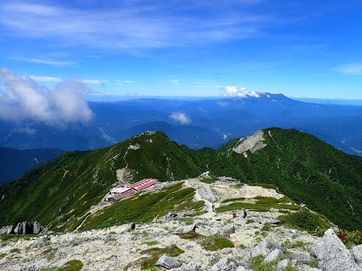 木曽前岳方面