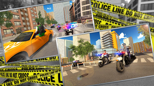 Police Moto Bike Chase u2013 Free Simulator Games 1.4 screenshots 11