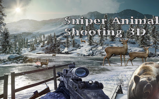 Sniper Animal Shooting 3D:Wild Animal Hunting Game 1.32 screenshots 3