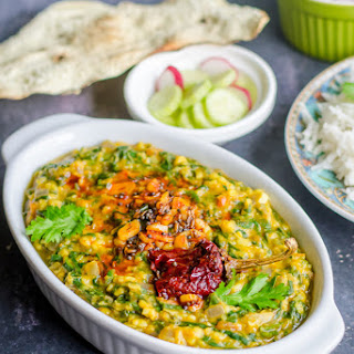 Spinach and Lentil Curry Recipe
