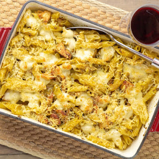 Chicken Pesto & Bocconcini Pasta Bake Recipe
