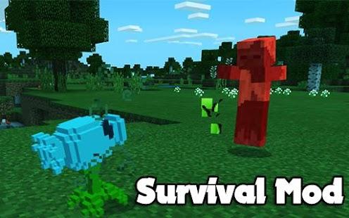 New Plant vs Mod Skin Zombie For minecraft PE - náhled
