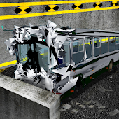 Bus LIAZ Crash Test