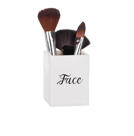 """Trälåda """"Face"""""""