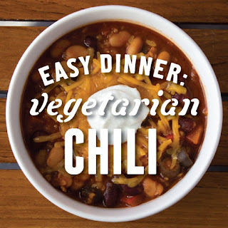 Easy Vegetarian Chili.